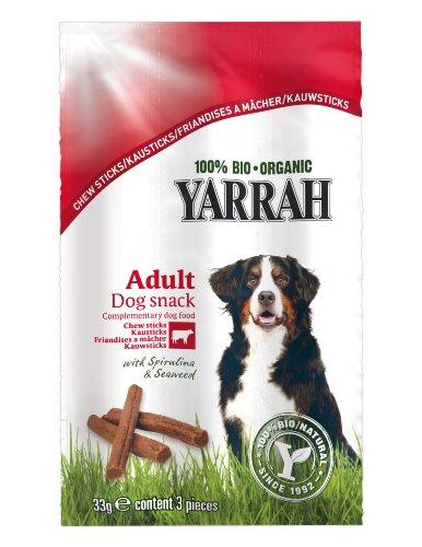 Yarrah Kausticks (3x11g) Bio Hundesnack, 25er Pack (25 x 0.033 kg)