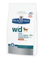 Hill´s Prescription Diet Canine w/d Ernährungshilfe für Hunde bei Diabetes mellitus und Adipositas
