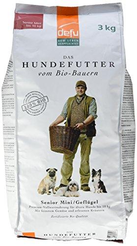 defu Bio Tierfutter für ältere Hunde kleiner Rassen