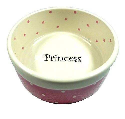 PeSoBo Fressnapf 15 cm Trinknapf rosa Hundenapf Keramik Keramiknapf Napf Wassernapf