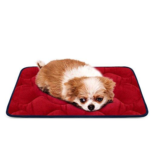 Weiche Hundebett Luxuriöse Hundedecken Waschbar Strapazierfähige Hundekissen Rutschfeste Hundematte HeroDog