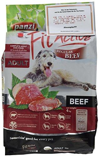 Panzi FitActive Premium Hundefutter Rind