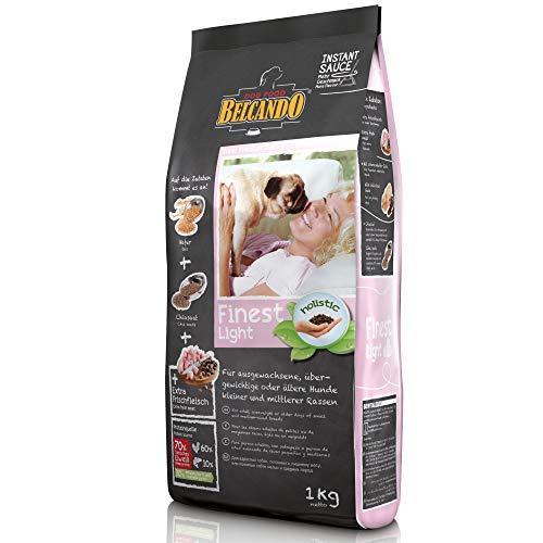 Belcando Finest Light Hundefutter | Trockenfutter für kleine & mittlere übergewichtige Hunde | Alleinfuttermittel für Hunde ab 1 Jahr
