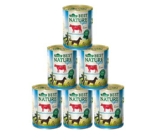 Dehner Best Nature Hundefutter Light Rind und Zucchini
