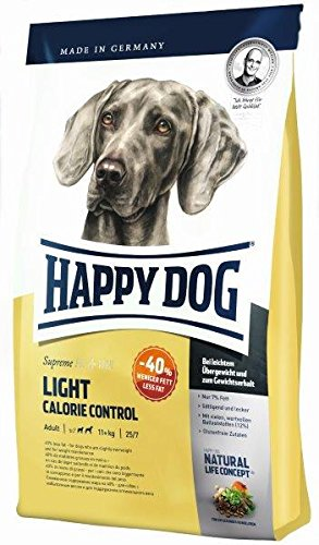 Happy Dog Fit & Well Light Calorie Control, 1er Pack (1 x 12.5 kg)