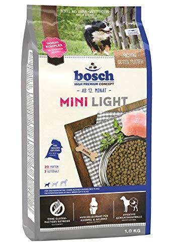 bosch HPC Mini Light | Hundetrockenfutter für übergewichtige Hunde kleiner Rassen (bis 15 kg)